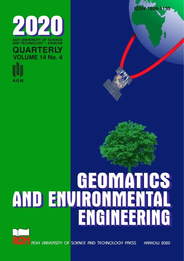 Geomatics and Environmental Engineering, vol. 14, no. 4