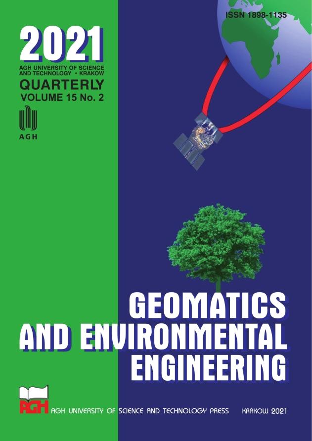 Geomatics and Environmental Engineering, vol. 15, no. 2