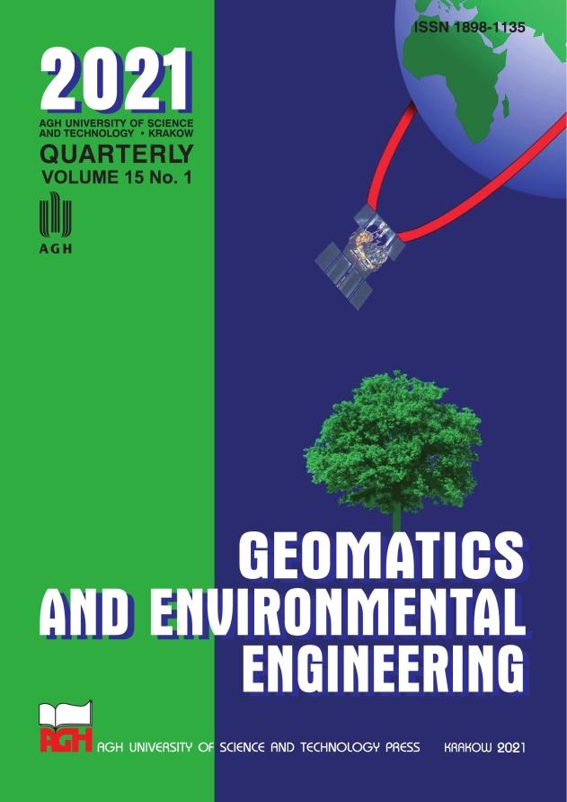 Geomatics and Environmental Engineering, vol. 15, no. 1