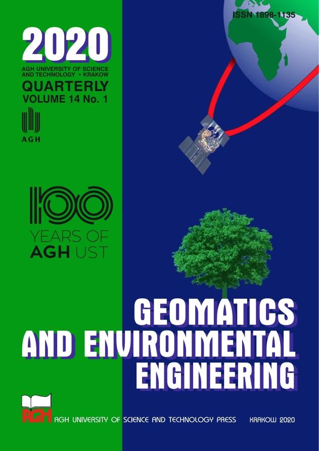 Geomatics and Environmental Engineering, vol. 14, no. 1